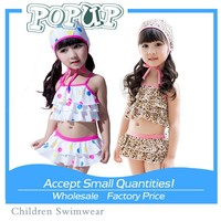 Hot! Sexy Swimwear Color Spots Young Girl Swimwear