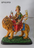 #0518-Indian Goddess Durga Devi Vaishno Polyresin Hindu God Gifts
