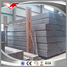 Supply best Service building material square steel pipe price on wholesale