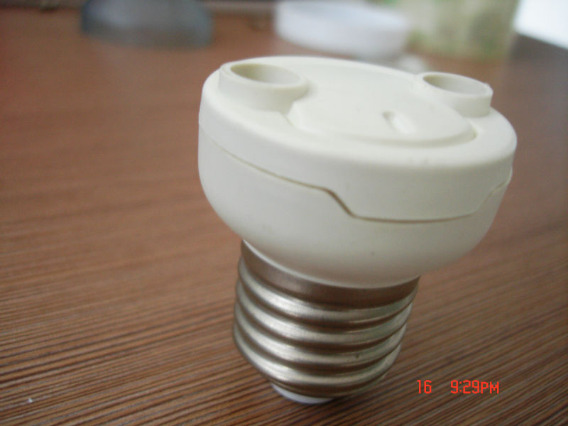 E27 to E12 lamp adapter ,E14 to MR16 lamp adapter,led lamp mold manufactory