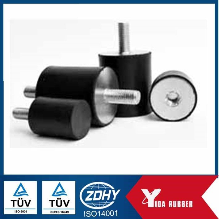 China customized rubber buffer rubber metal stop buffer for shock absorber