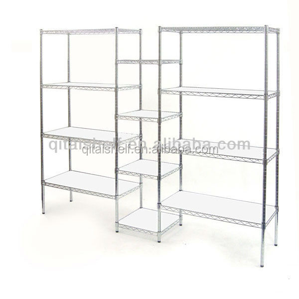 NSF Certificated ISO Approved chrome finish custom wire shelvings