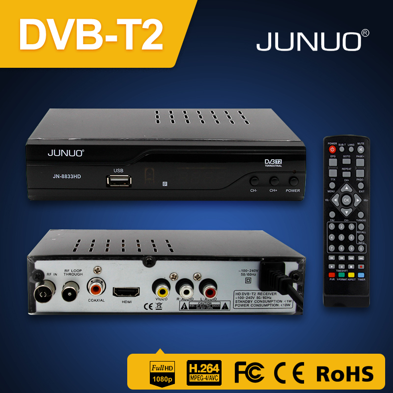 2017 Hot Selling dvb-t2&s2 combo dvb t2 s2 combo hd dvb-s2 set top box