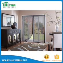 Magnetic Fiberglass Mesh Screen Porch Door
