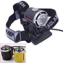 Waterproof 10-Watt CREE XM-L T6 LED 1200 Lumens Outdoor Headlight