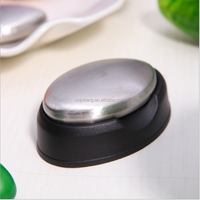 Magic Stainless steel Soap / odor removing stainless steel soap / Cleaning Stainless steel soap with holder