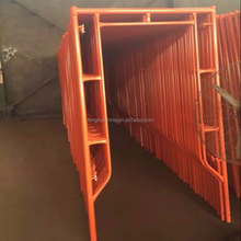 Cangzhou Safety Masonry Material H Frame Scaffolding For Construction