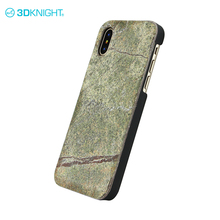 Stone design handy cover mobile phone for iphone x hard case scratch-resistant cover black