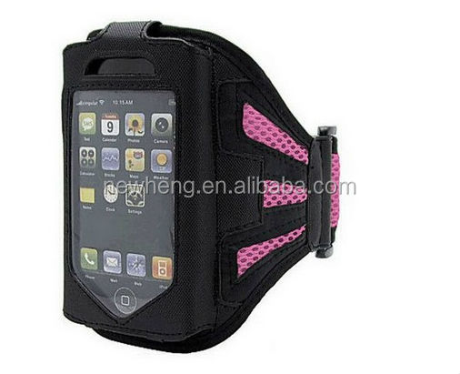 Hot sale! for iphone5 Armbands Running Cover Skin Soft Mesh Cloth Gym Sport Armband Case for iPhone 5