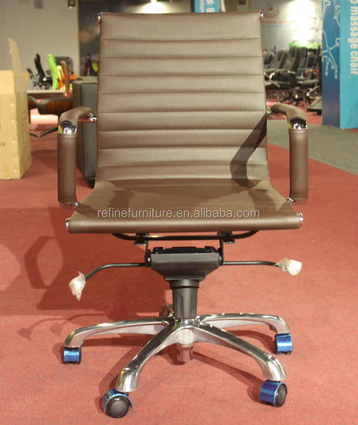 synthetic leather modern armless office chair no arms rf s075w buy
