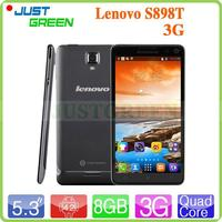 Cheapest OS Android 4.2 Lenovo S898T MT6589T Quad Core 1.5GHz Ram 1GB/Rom 8GB Front & Back Camera Light sensors