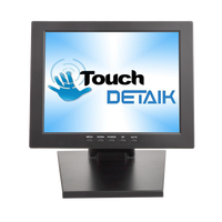 Detaik 10.4 TFT LCD Touch Screen Monitor Small Size 10 4 Inch Resistive Touchscreen Monitor