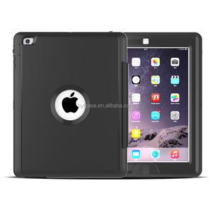 Colorful Hybrid Heavy Duty Stand Cover Case For Apple for iPad234 Shockproof Tablet Case with Auto sleep function