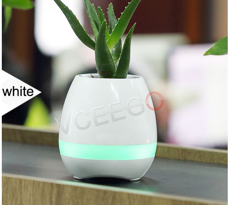 Best Bluetooth Flowerpot Wireless Speaker Mini SUPER BASS Creative Gift Toys Smart Flower pots