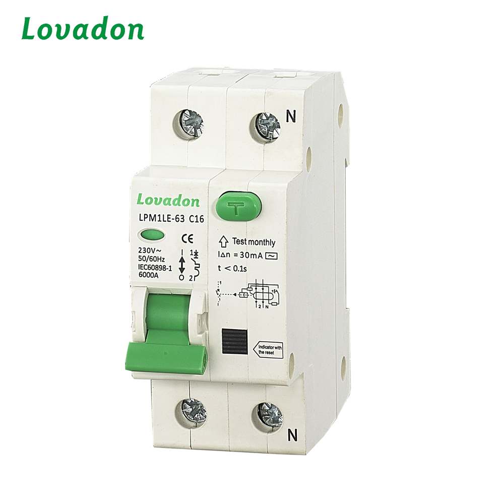 China Cheap Price RCCB Automatic Circuit Breaker Residual Current device Circuit Breaker