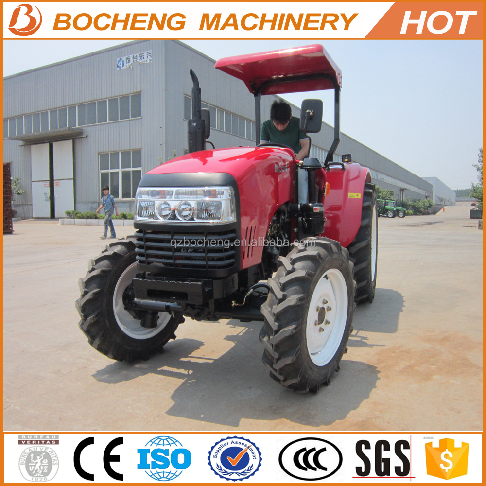 China Made 55HP Farm Tractor With Implements