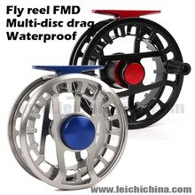 wholesale waterproof saltwater salmon fly reel