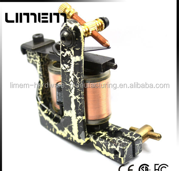 new face high quality wholes iron handmade tattoo machine on hot sell