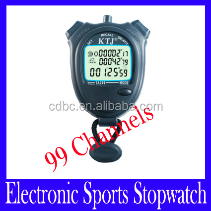 99 Laps Professional Handheld Stopwatch Sports Stopwatch Digital Counter Timer TA299