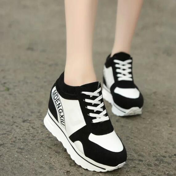 zm33215a korea style girls sneakers casual running safety shoes for women