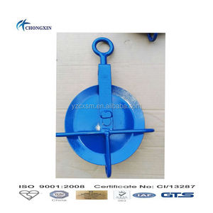 GIN Pulley WHEEL with swivel eye for scaffolding builders pulley