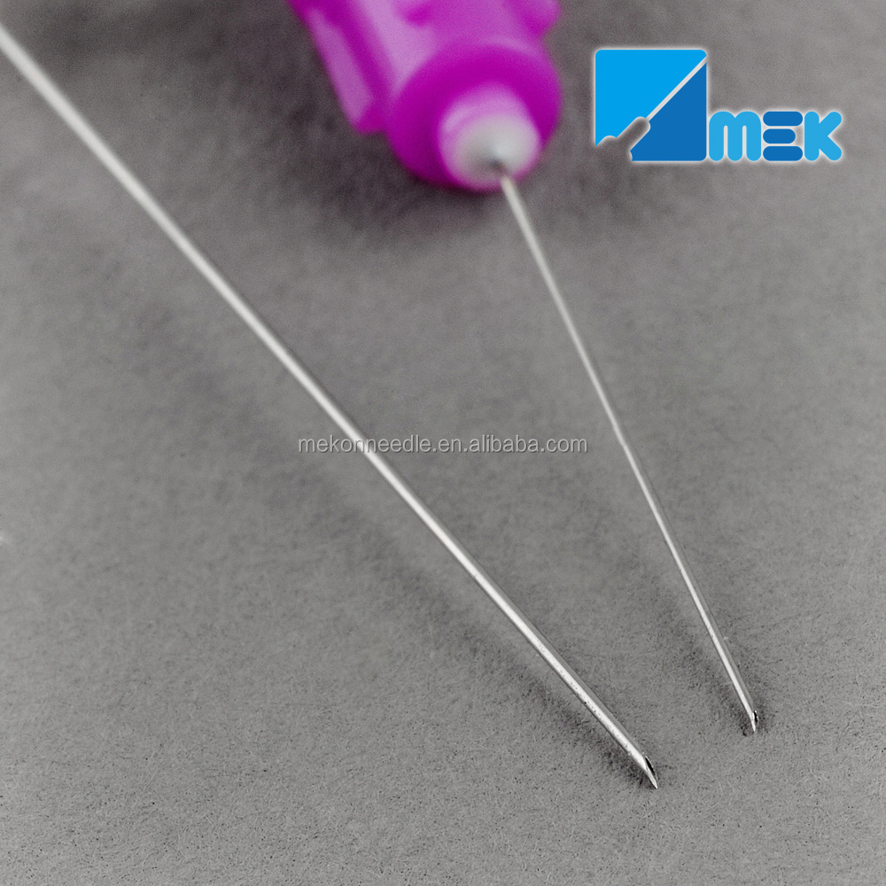 Disposable dental needle 25G-30G long or short needle