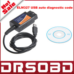 Hot Sale Factory Price Supports all OBD protocols ELM327 Interface Plastic USB