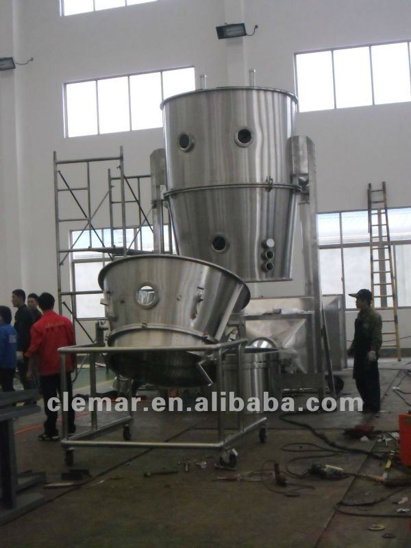 Fluid bed granulator / fluidized be granulator / fluidised bed granulator