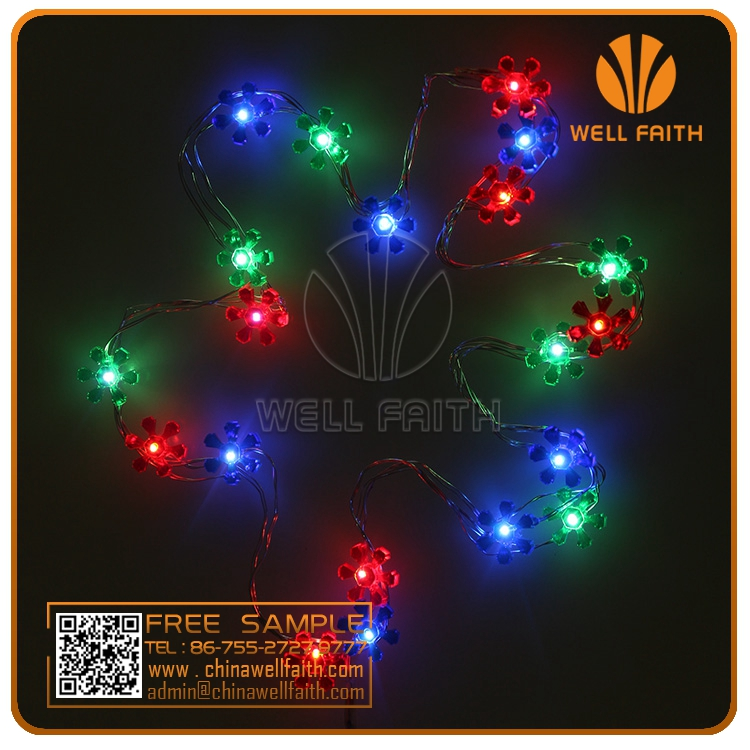 Flower seeds garden bulbs LED string lights outdoor LED play light string