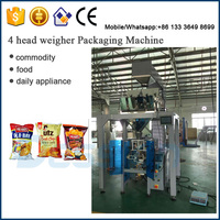 Automatic Potato Chips And Apple Slices Packing Machine
