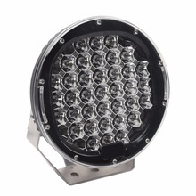Truck car accessories round 185w super bright led working light 185 w led work light lamp 24 volt 12V