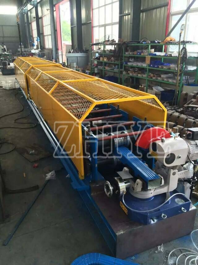 CNC GI Steel Pipes Roll Forming Machine