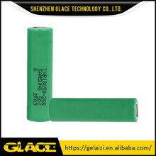 100% original 18650 2500mah INR18650-25R 20A continuous discharge 3.6v samsung inr18650 25r battery FLAT TOP