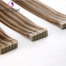 9A Highest Grade Piano Color Hair Human 100% Remy Hair Tape In Hair pu Skin Weft Extensions
