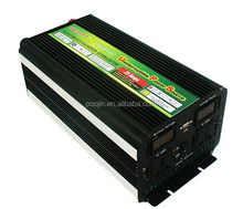 2000w DC 12V to AC 220V off grid modified sine wave power inverter with UPS battery charger FOR home AND LED display