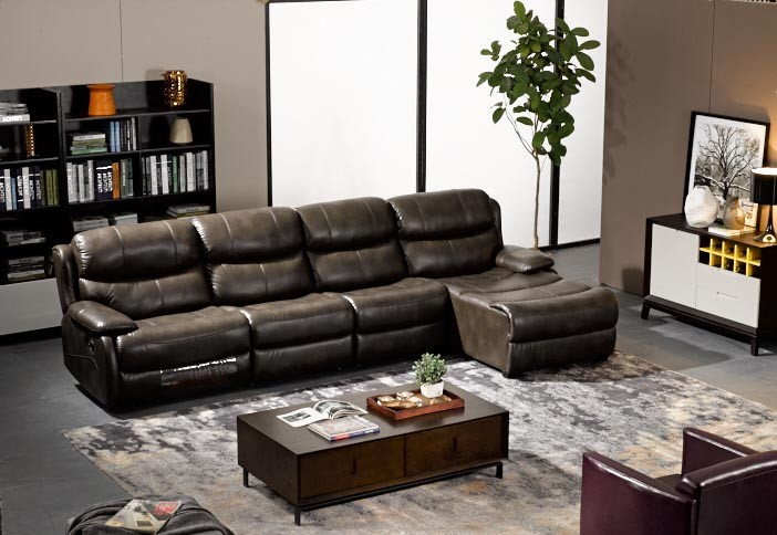 Modern italian furniture simple style living room fabric sofa