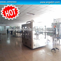 Guangzhou machinery full automatic apple juice bottling unit