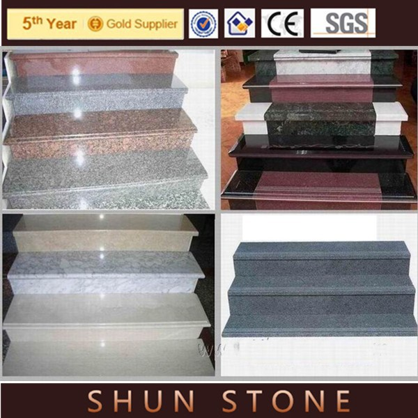natural stone stair tread cover