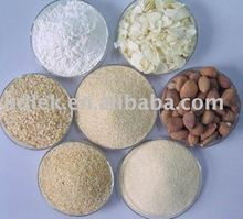 dried garlic crushed/chopped/minced/granulated/powdered
