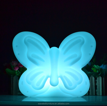 Modern design waterproof led butterfly shape light for event decoration