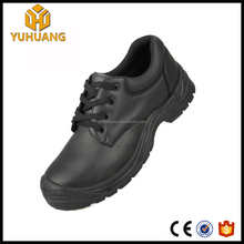 New design genuine leather Waterproof office executive safety shoes