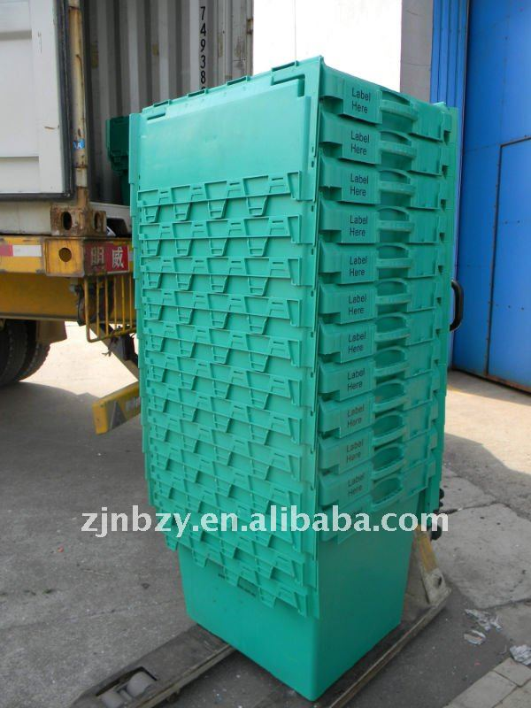 Plastic Heavy-duty Stackabl Moving Crate
