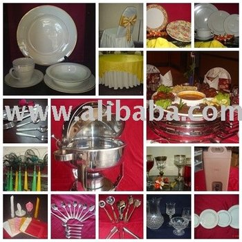 Rental Of Catering & Banquet Equipment