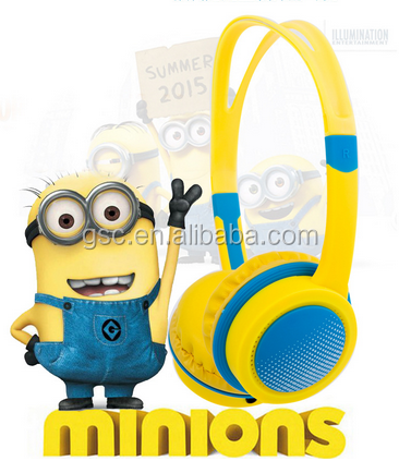 2016 Cool colour ful new design wholesale headphone for kids wireless headphone headset earphone for kids