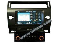 WITSON car dvd gps citroen c4 with USB port and iPod ready