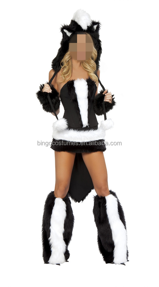 Top Quality Furry Women Sexy Animal Costumes cosplay costumes