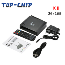 KIII Amlogic S905 Android 5.1 Lollipop TV BOX 4K Quad Core 2GB/16GB 2.4G/5GHz BT4.0 Pre-installed