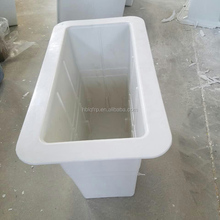 OEM Indoor & Outdoor Fibreglass Garden Plant FRP Fiberglass Flower Pot Wholesale For Mall & Roadside