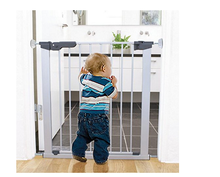 Baby safe pressure gate wall guard