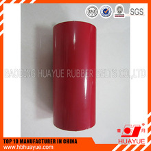 China wholesale Multiple labyrinth seal Steel rubber coated return roller